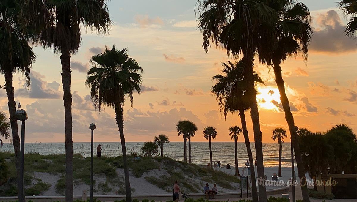 Mania de Orlando passou uma tarde especial em Clearwater Beach