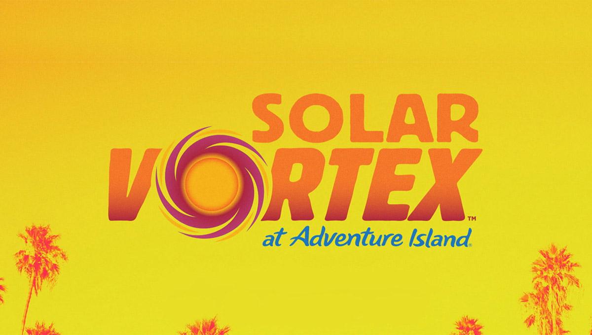 Solar Vortex, novo toboágua chega em 2020 no Adventure Island