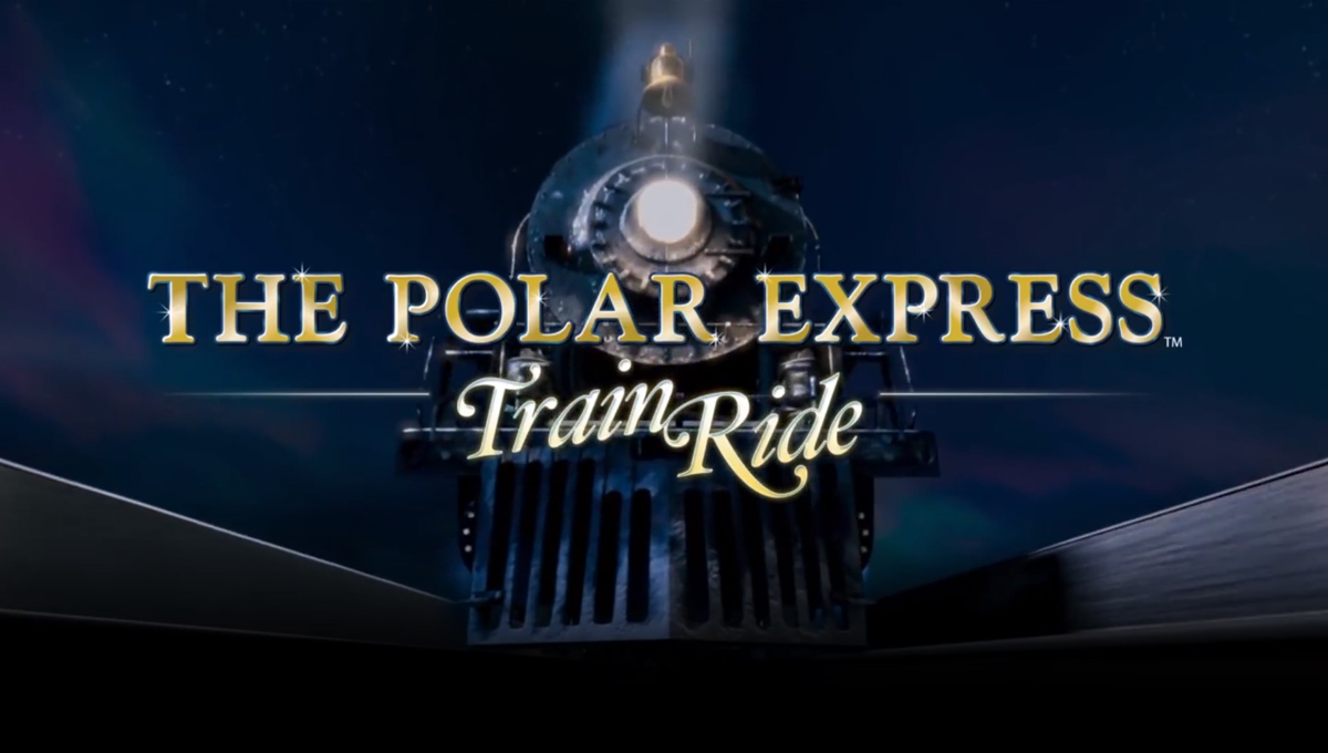 Neste ano viaje no The Polar Express Train Ride em Orlando