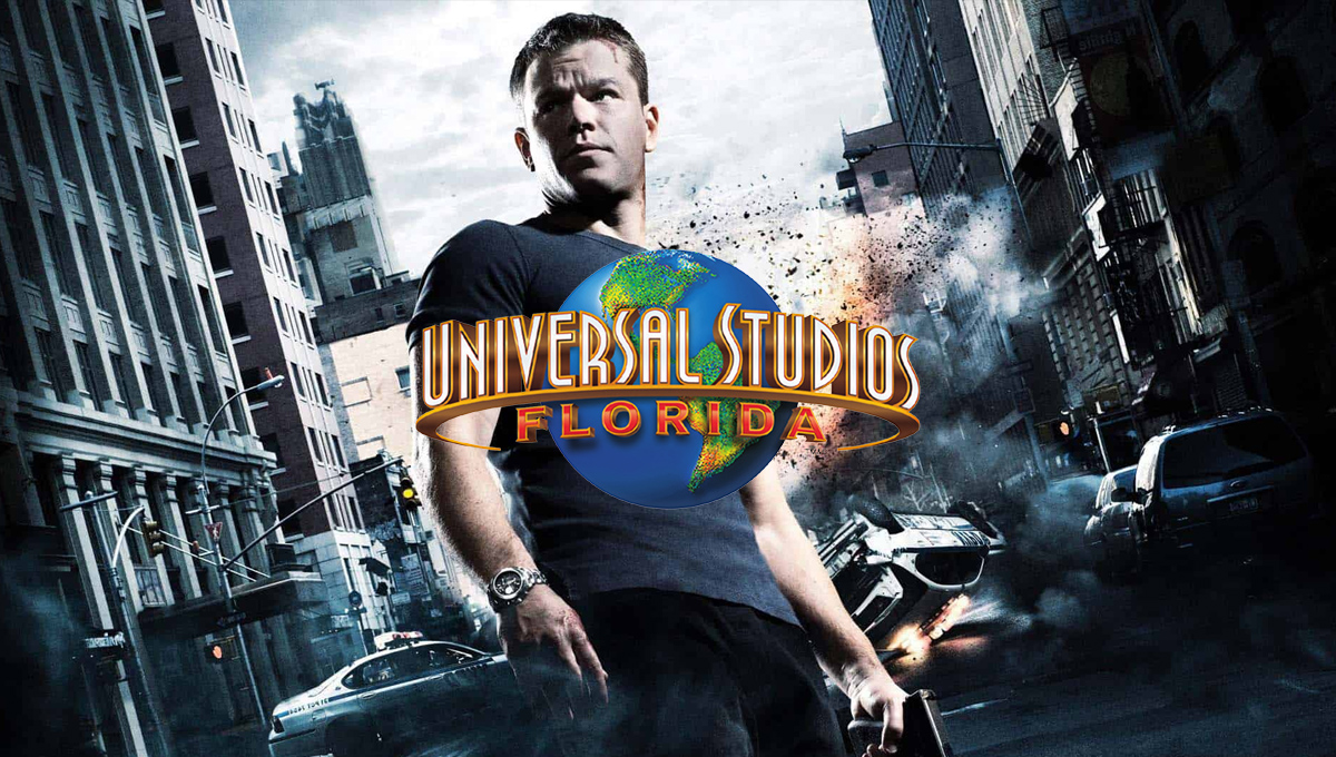 """""""The Bourne Stuntacular"""" é o novo live-action no Universal Studios Florida"""