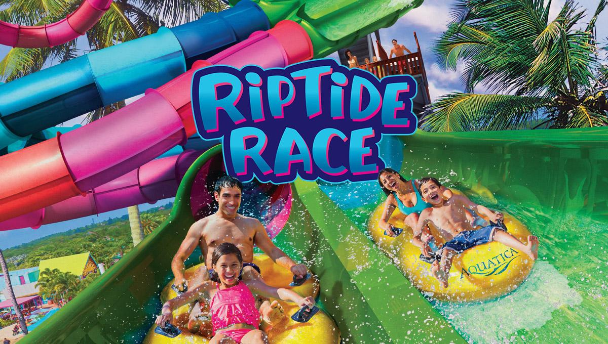 Uma competição divertida no toboágua chega no Aquatica Orlando em 2020