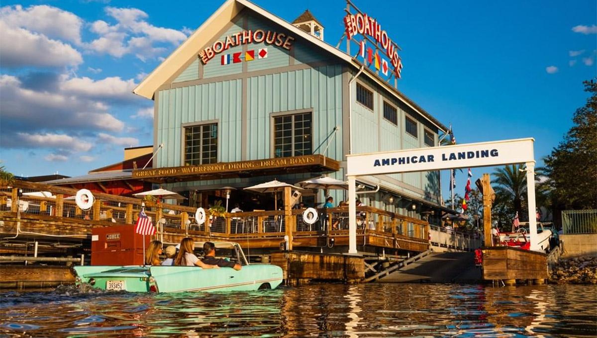 Agora você pode navegar no The Boathouse que está de volta ao Disney Springs